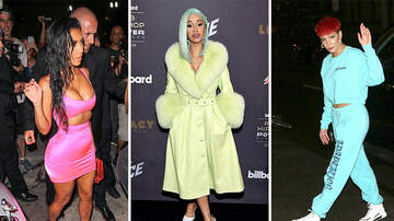 Photos - 26 Celebs Glowing In Neon Outfits