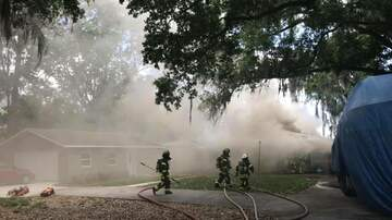 Tampa Local News - One Person Injured After Fire Races Through Odessa Home