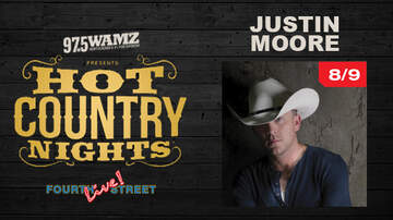 None - Justin Moore - Hot Country Nights