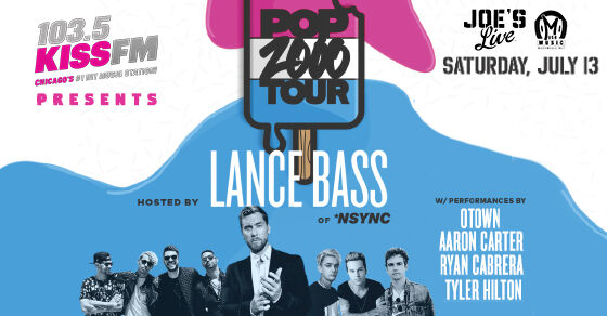 103.5 KISS FM Presents Pop 2000 Tour Hosted by Lance Bass of *NSYNC