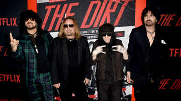 Rock News - Motley Crue & Netflix Sued Over Biopic Crewman Injury