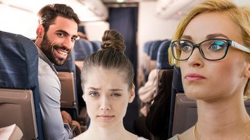 Music News - Woman On Plane Stops Man From Sexually Harassing Teen
