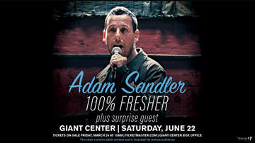 None - Adam Sandler at the Giant Center