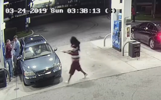 Indiana Spring Breakers Foil Armed Robbery at Florida Gas Station