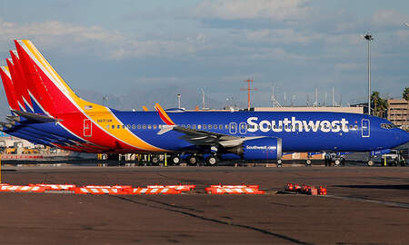 National News - Southwest Boeing 737 Max Makes Emergency Landing In Orlando