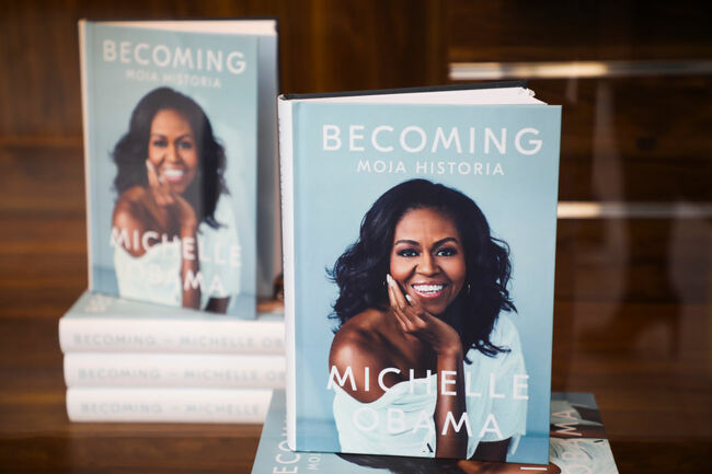 Michelle Obama's 'Becoming' Is A Bestseller In Poland