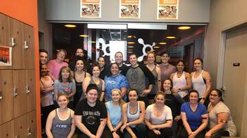 Photos - Gavin and KISS 95-7 at Orangetheory Fitness