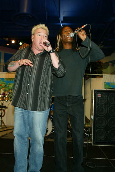 Smash Mouth Performs Live At Toys R Us Times Square