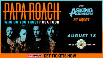 Features - Purchase presale tickets to see Papa Roach