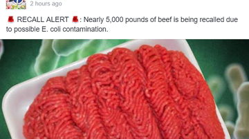 NewsRadio WKCY - News NOW  - Nearly 5,000 pounds of beef recalled due to possible E. coli contamination.