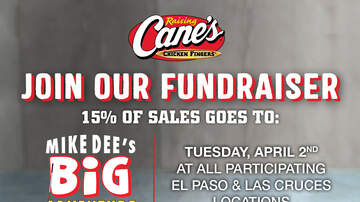 Patti Diaz and Mike Dee - BIG ADVENTURE DAY AT RAISING CANES