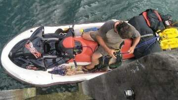 Klinger - Perp Attempts To Flee Australia On Jet Ski Armed w/Crossbow