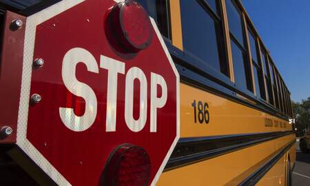 Local News - 3 Students Transported To Hospital After School Bus Crash