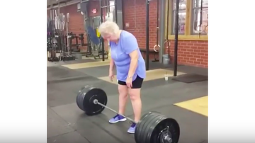 JB - ***VIDEO***  Deadlift Nana!