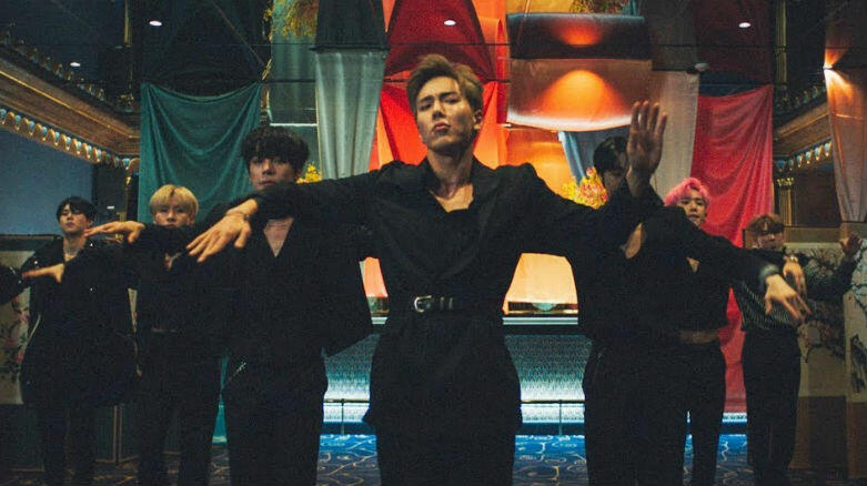 Monsta X Serve Choreography In Steve Aoki-Assisted 'Play It Cool' Video