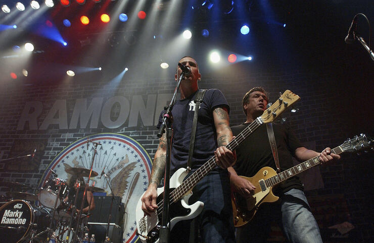 The Ramones 30th Anniversary Party