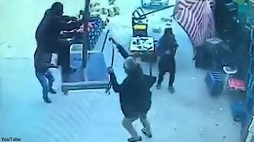 Coast to Coast AM with George Noory - Watch: Massive Gust of Wind Sends Umbrella-Holding Man Flying into the Air