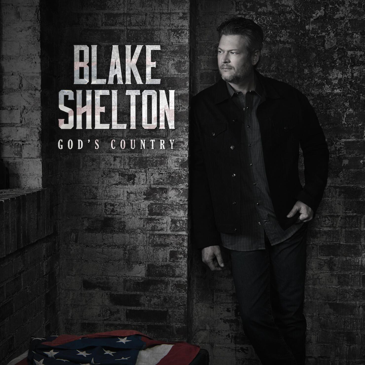 """Blake Shelton """"God's Country"""" Cover Art"""