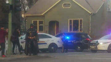 Jack Emerson - Man Dressed As Batman Offers To Help At Standoff With Police