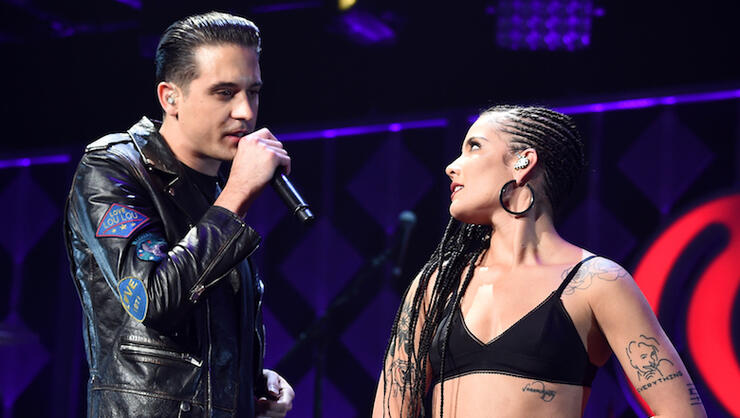 G-Eazy Apparently Booed One Of Halsey's Songs At New York Nightclub