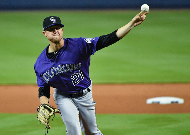 Kyle Freeland - Mark Brown/Getty Images