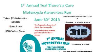 None - Ovarian cancer awareness motorcycle run