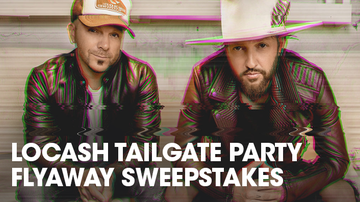 Contest Rules - LOCASH Tailgate Party Flyaway Sweepstakes Rules