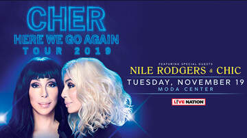 None - Cher - November 19 @ The Moda Center