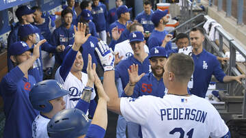 Dodgers Clubhouse - Dino Ebel Talks About The Success Joc Pederson Is Having Early On