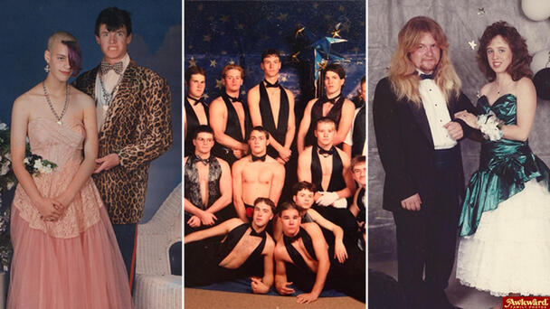 The Most Awkward Prom Photos From The '90s