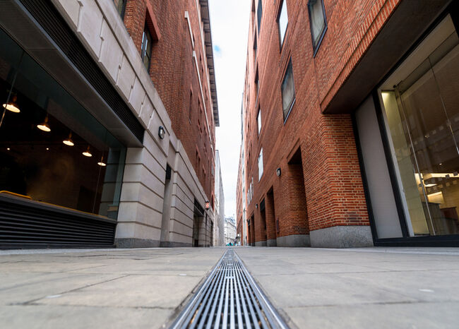 An Empty City Alley
