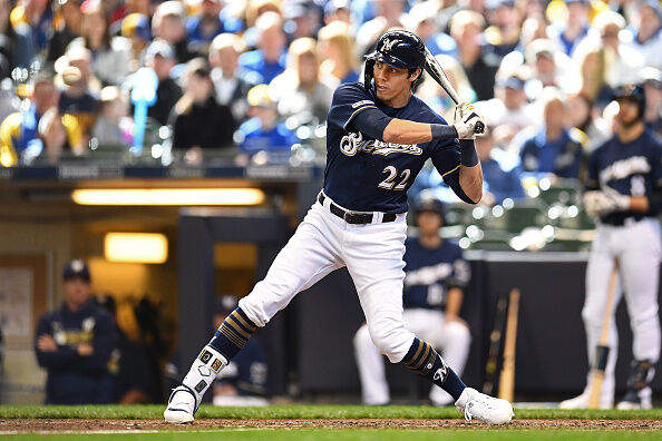 Getty Images: Brewers MVP Christian Yelich