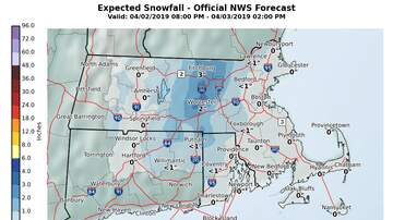 Storm Center - April Nor'Easter To Bring Wind, Rain, Snow Wednesday