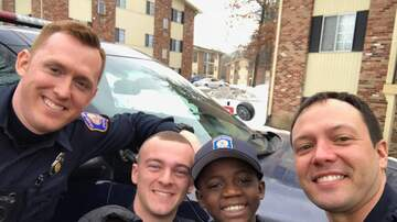 Matt and Aly - GRPD Officers Deliver Birthday Surprise To Boy
