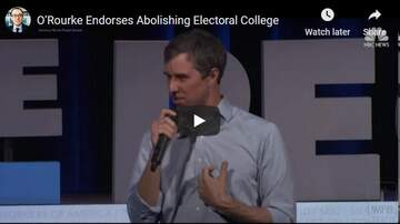 KC O'Dea Show - Idiot Who Couldn't Beat Ted Cruz Wants To Abolish Electoral College