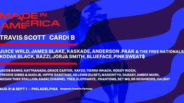 image for Listen All Weekend Long to Win a Passes to the Made in America Festival!