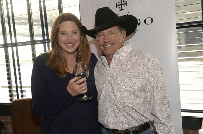 Angie Ward and George Strait 2019 - Atlanta, GA