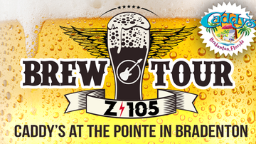 Frank the Tank - Z105 Brew Tour: Caddy's at the Pointe