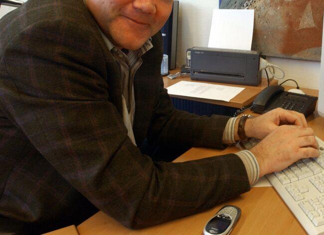German entrepreneur Jan Holtermann poses