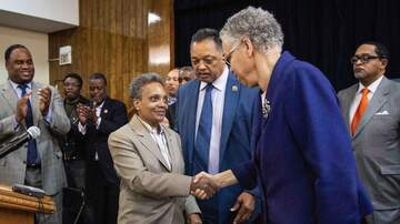 Sonya Blakey - Unity Meeting between Mayor Elect Lori Lightfoot and Toni Preckwinkle