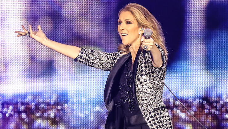 Celine Dion Concert in Nice