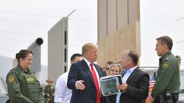 The Morning Rush - Pres. Trump Visits The Border, Gives Mexico One-Year Warning