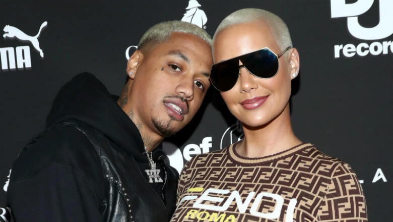 Amber Rose Expecting Baby Boy With Boyfriend AE