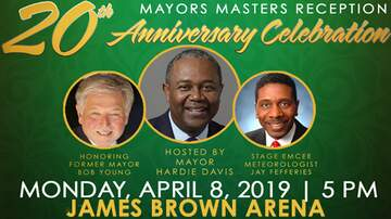 Cliff Bennett - Mayors Masters Reception - Moved To James Brown Arena!