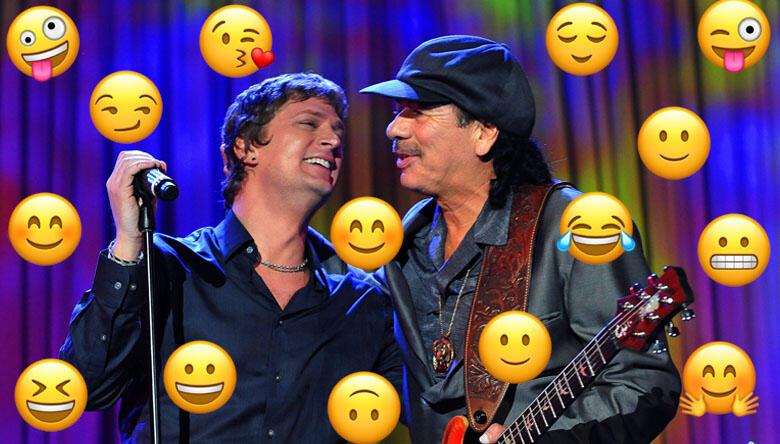Carlos Santana Texts A 'Surprising' Amount Of Emojis, Says Rob Thomas