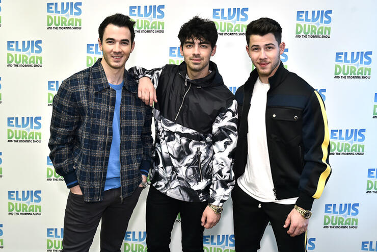 "The Jonas Brothers Visit ""The Elvis Duran Z100 Morning Show"""