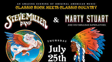 None - WZLX's 34th Birthday Bash with Steve Miller Band at The Pavilion 7/25