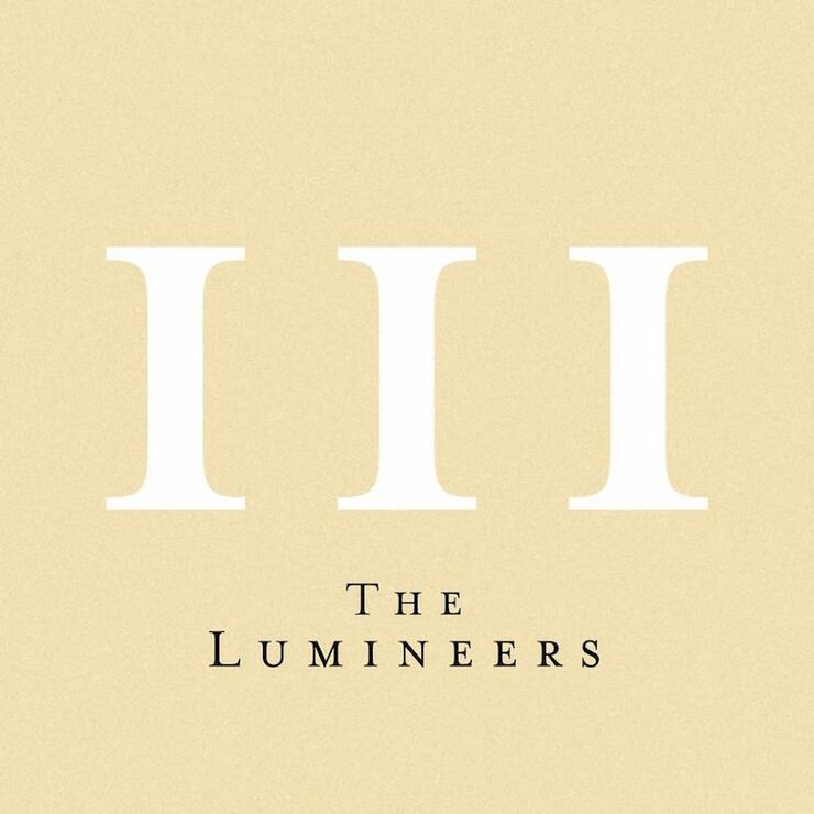 The Lumineers - 'III' Album Cover Art