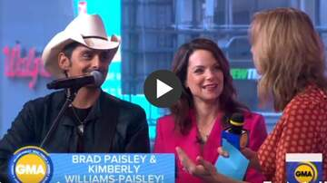 Ditch - Brad Paisley Stops By GMA To Perform My Miracle.