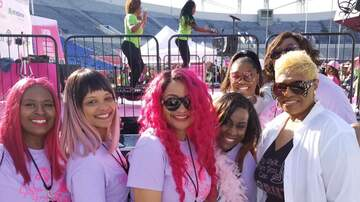 Ena Esco - Cracker Barrel Sista Strut 2019! Pink wigs galore:-)